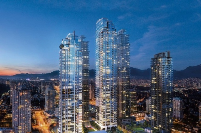 6080 Mckay Avenue, ,Metrotown Condo,Condo Building in Construction,6080 Mckay Avenue,1019